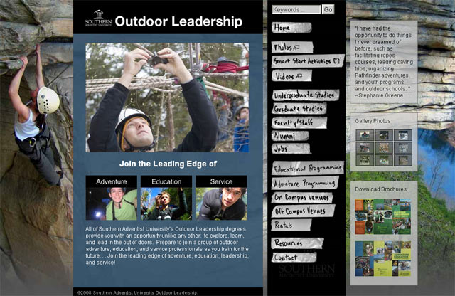 Outdoor Education Website