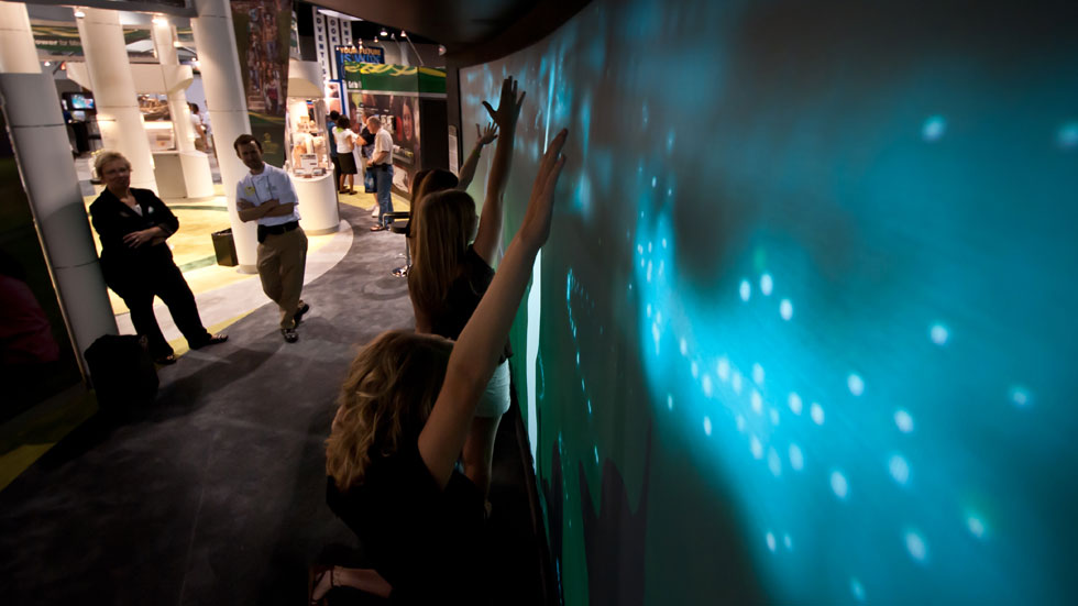 Interactive Wall of Spirituality